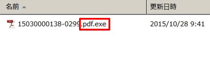 他のソフトに隠れて存在するウイルス