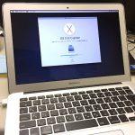 Mac book airの初期化(OSの再インストール)と、その他ITサポート
