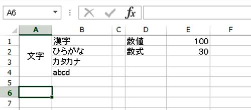 Excel基本編:セル内の文字の配置