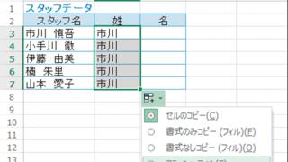 Excel基本編.1-3 〜効率よくデータ入力する方法〜