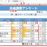 Excel基本編.2-2 〜レッスン1:見やすい集計表を作成する〜
