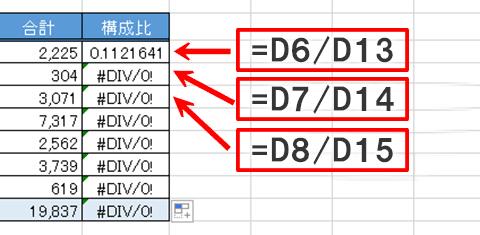 Excel基本編〜レッスン1:見やすい集計表を作成する〜相対参照と絶対参照の違い