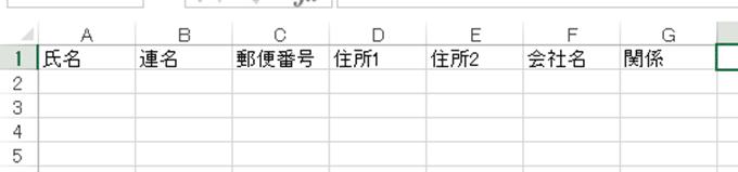 Excel基本編.〜管理しやすい住所録を作成する〜効率よくデータを入力する