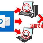 Outlookで特定のアドレスにメールが送信できない原因と対処法 【2010,2013,2016対応】