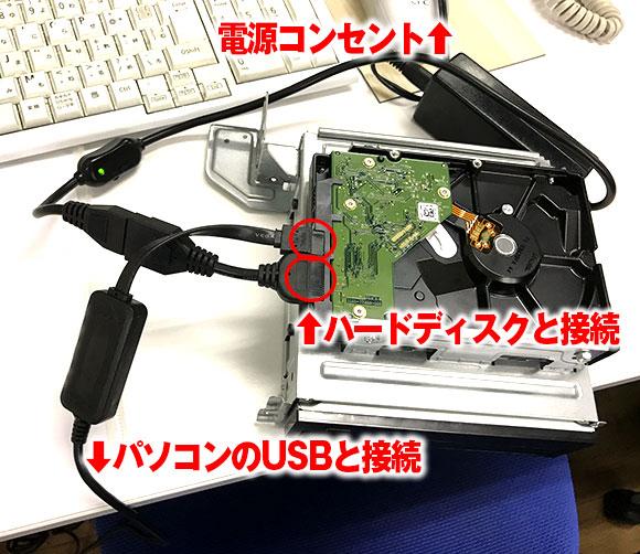 USB接続変換アダプタ