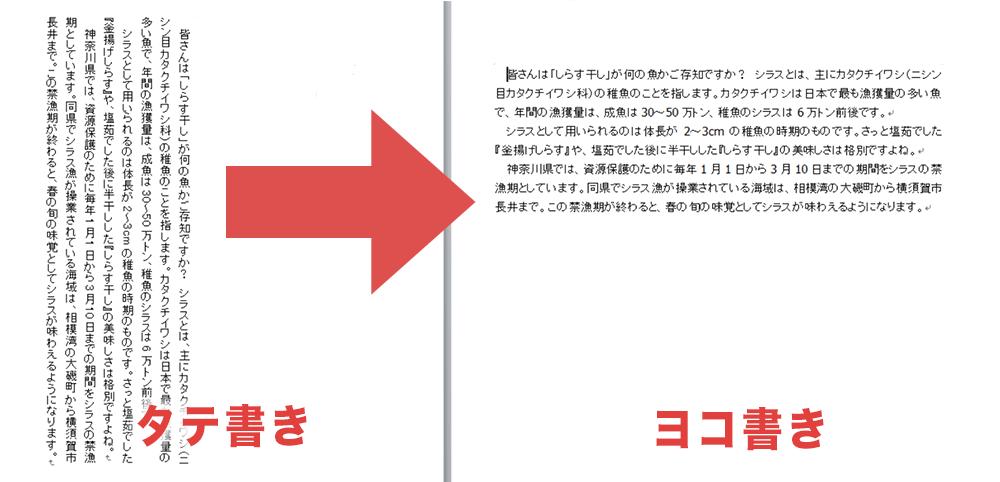 Windows10アップデート後に、「一太郎」で縦組みが横組みに表示される不具合