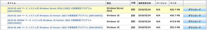 Windows 10 April Update 2018で発生していたIntel製SSDの不具合向けアップデートが提供